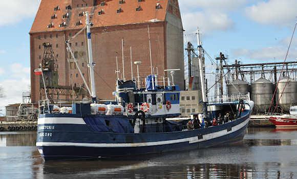 Beispielhaftes Schiff