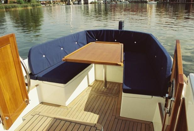 Motoryacht - Deck