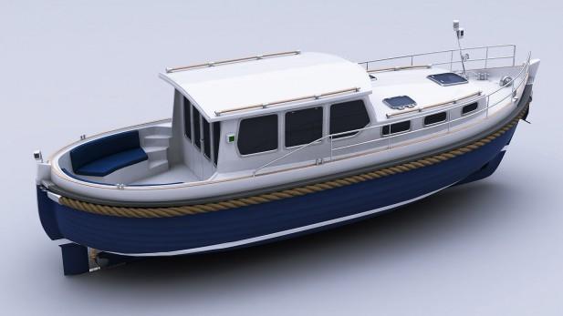 Yachtmodell - Seiten